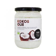 Raw Organic Food kokosolie kokosvet
